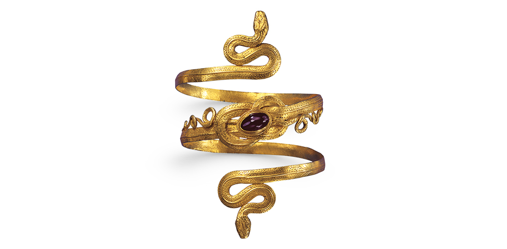 Hellenistic snake bracelet, 3rd-2nd century BC, photo Günter Meyer